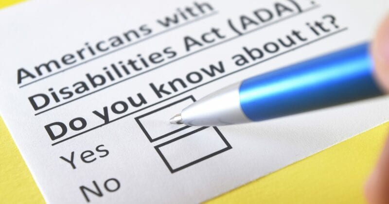 americans with disabilities act (ADA)- do you know about it?