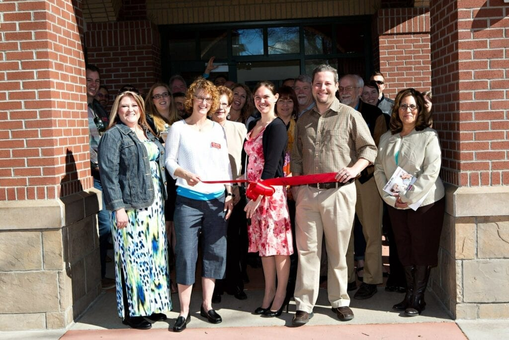 road warrior creative ribbon cutting with fort collins chamber of commerce